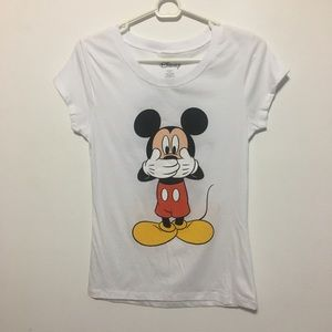 Disney Mickey Mouse Silly T-Shirt, Girls L